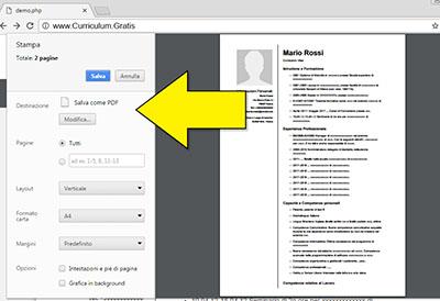Crea Curriculum Vitae Online In Pdf